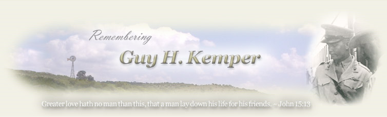 Remembering Guy H. Kemper