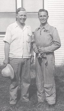 Howard and Guy - July 2, 1932