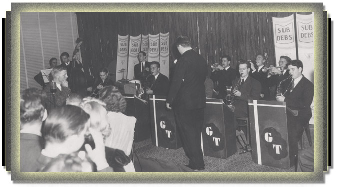 Gene Thornton Orchestra performing in Big Spring, Texas